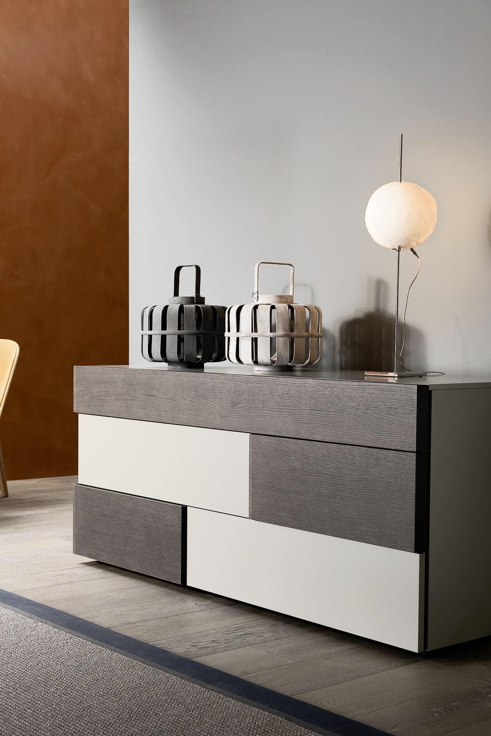 Letto Con Comodini Moderno ~ Design Per la Casa e Idee Per Interni