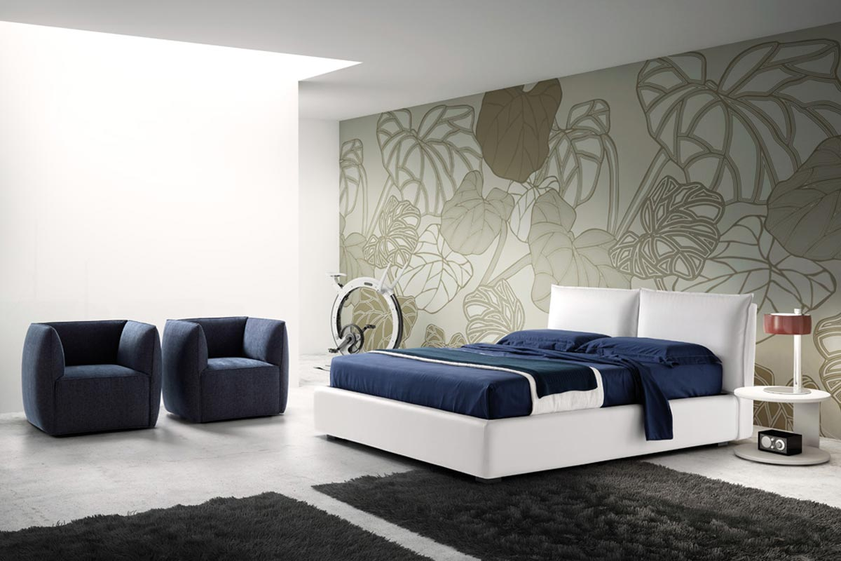 Letto matrimoniale moderno Top Lops Quiet 1