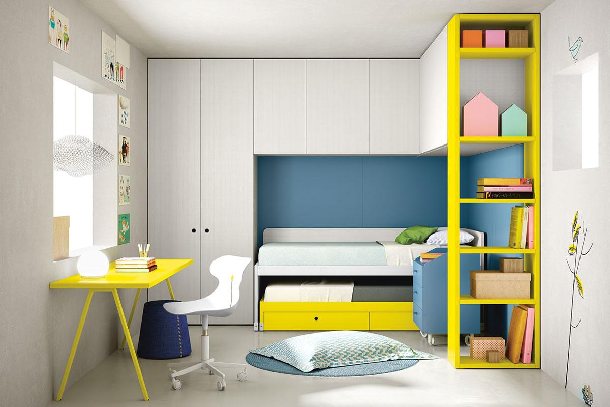 Camerette camerette per bambini classiche e moderne for Camerette componibili