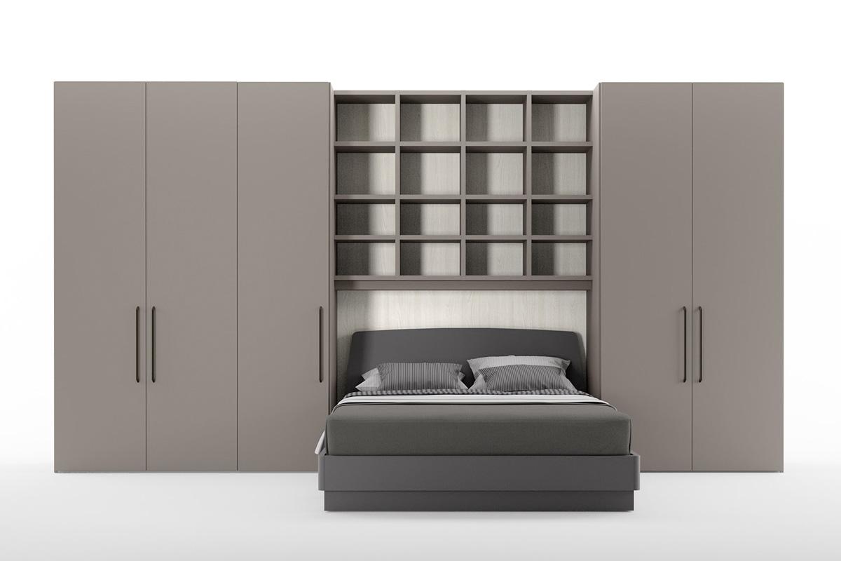 Salvaspazio trasformabili letto soggiorno ufficio for Arredamenti lops