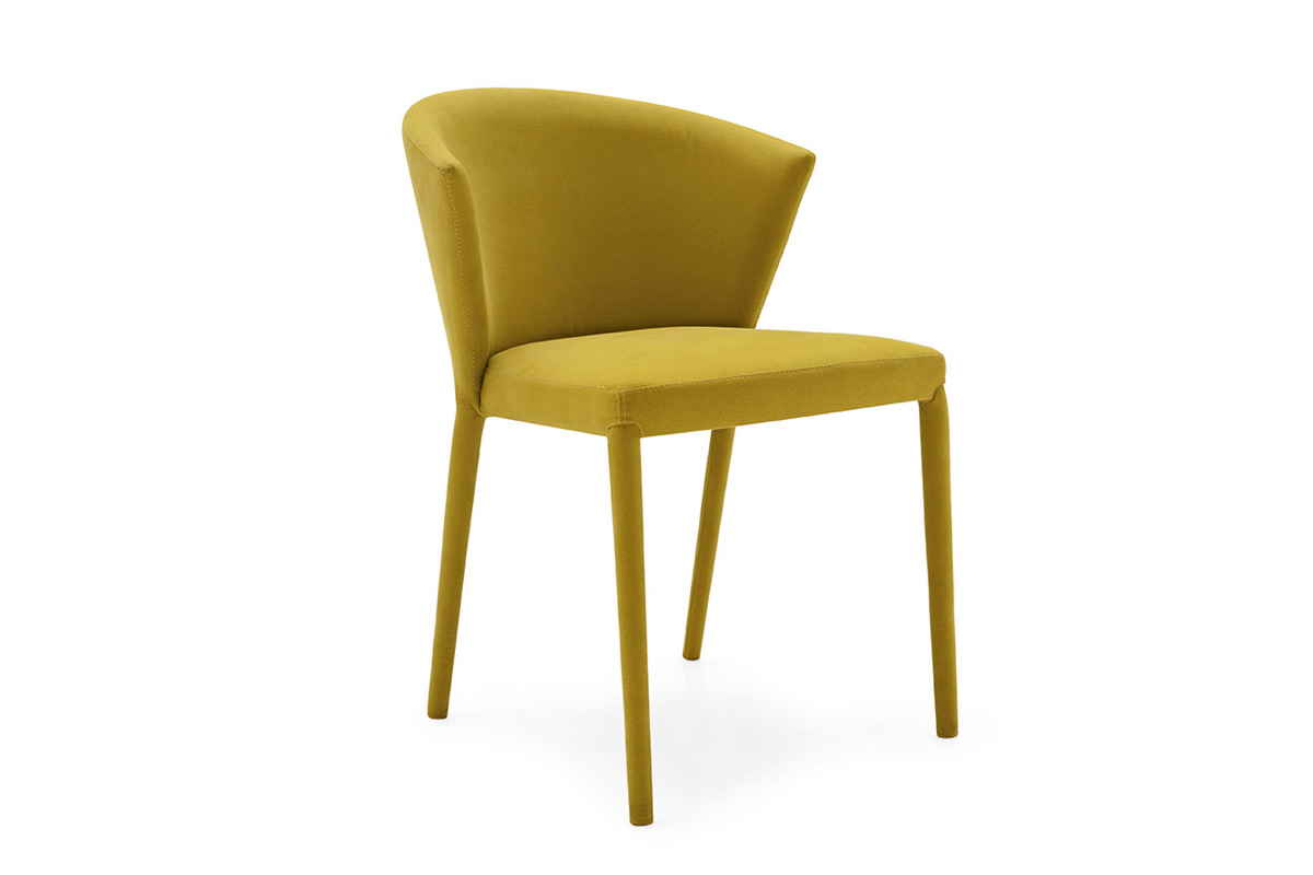 Sedia Moderna Imbottita Avvolgente Eiko : Sedia moderna imbottita top lops amelie sedie