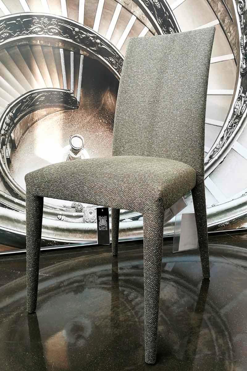 Sedia outlet calligaris anais tessuto tr acquistabile in for Outlet della sedia milano