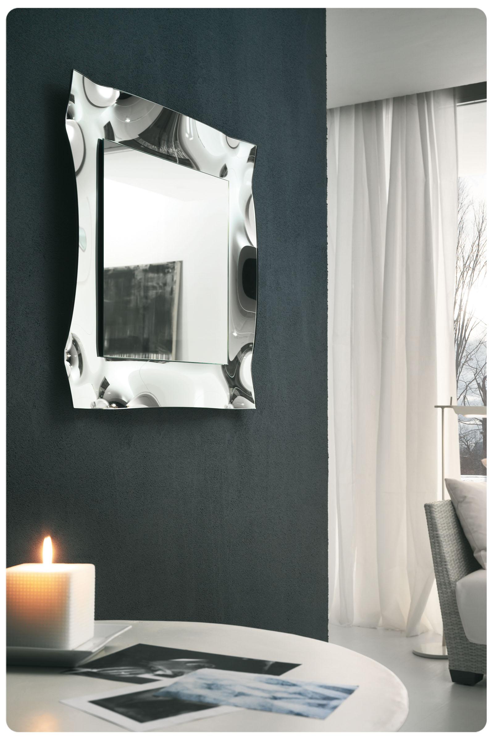 Specchio moderno top lops viva specchi acquistabile in milano e provincia monza e brianza - Specchio moderno ...