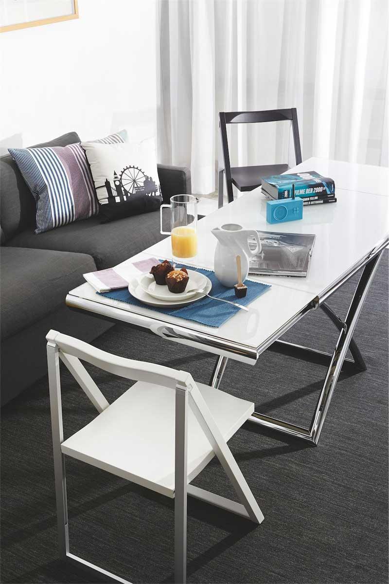 Tavolino moderno trasformabile Calligaris Dakota ...