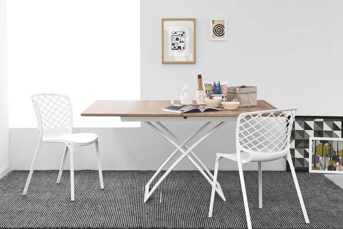 Tavolino moderno trasformabile calligaris magic j for Calligaris comodini
