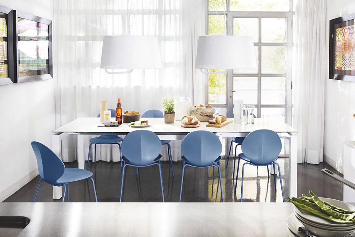 Tavoli tavoli sedie consolle classici e moderni milano for Tavolo atelier calligaris