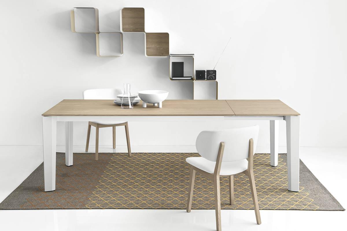 Tavoli allungabili moderni calligaris tavolo moderno - Tavolo vetro allungabile calligaris ...
