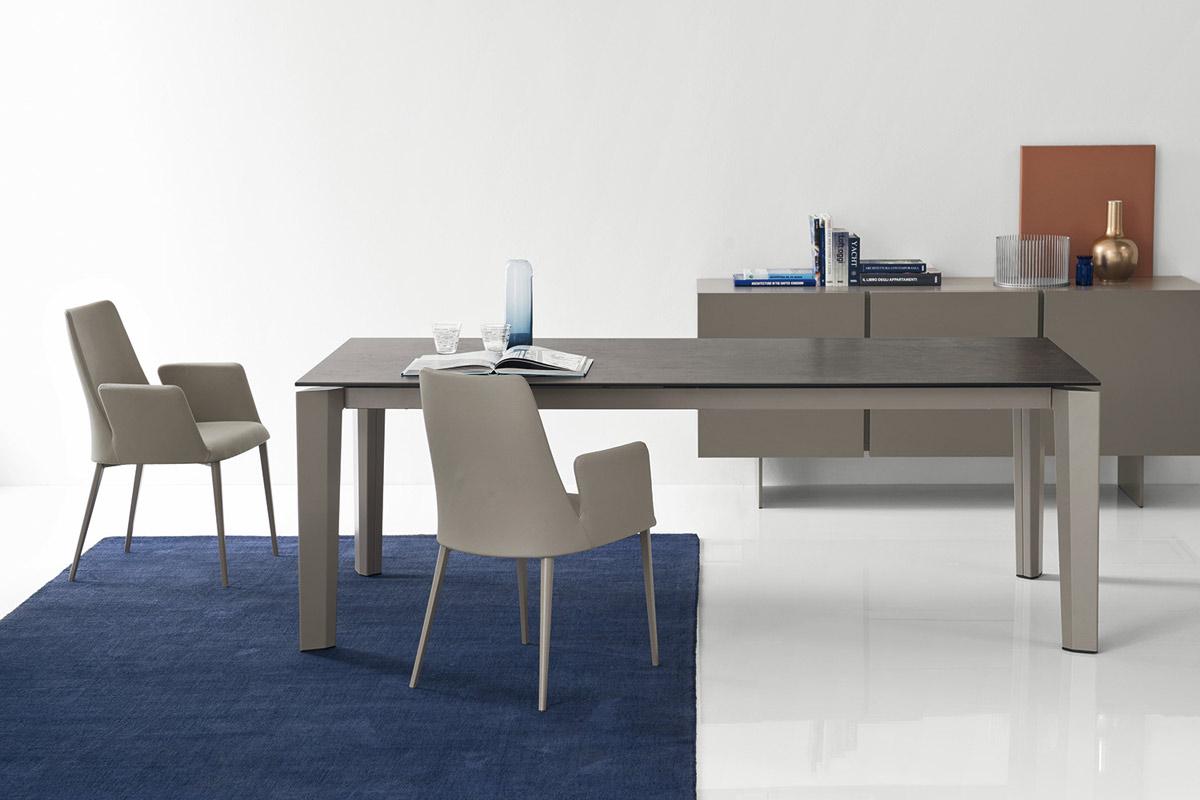 tavolo moderno allungabile calligaris delta acquistabile