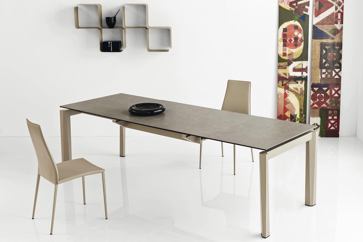 Tavolo moderno allungabile Calligaris Esteso Wood - Acquistabile in ...