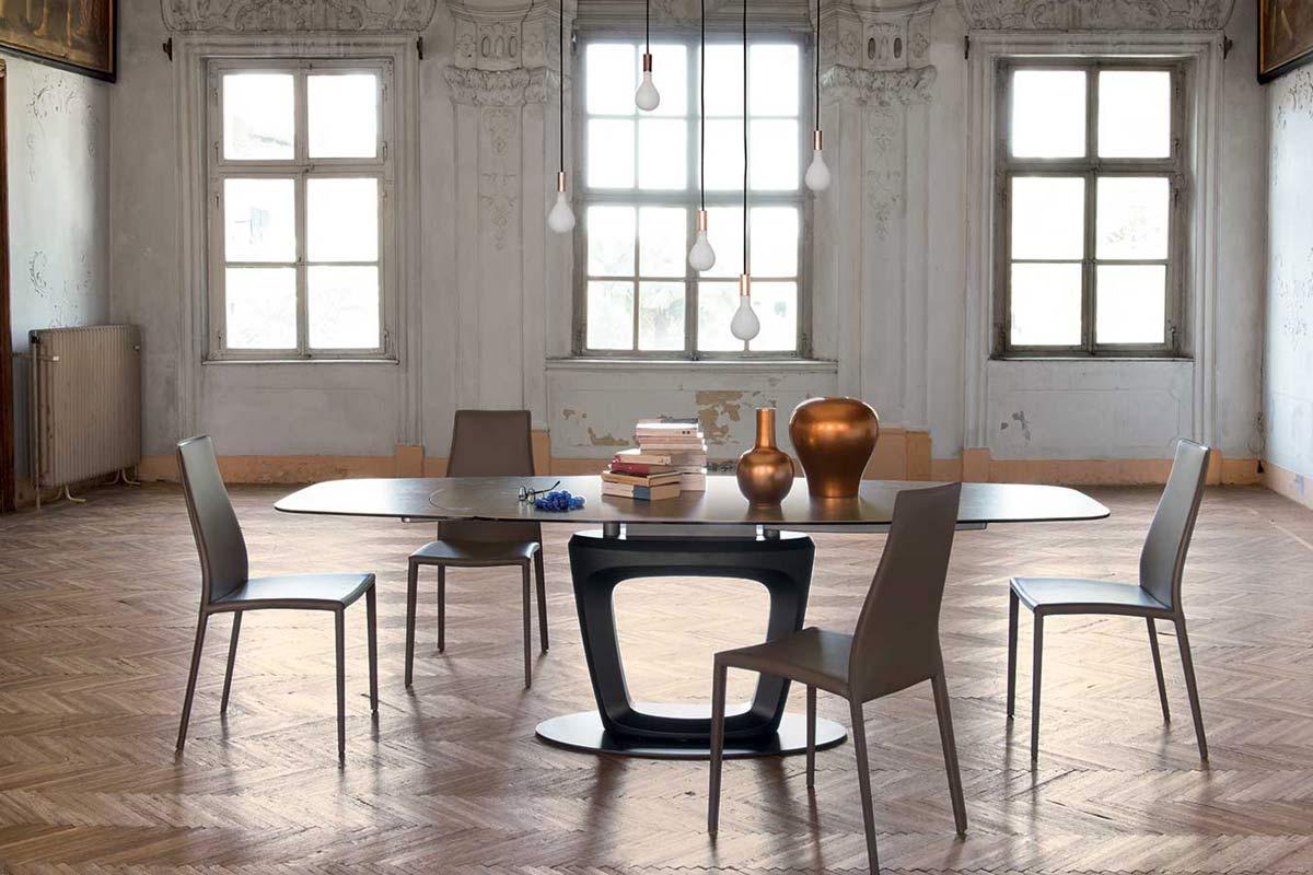 Tavolo moderno allungabile calligaris orbital - Calligaris tavolo orbital ...
