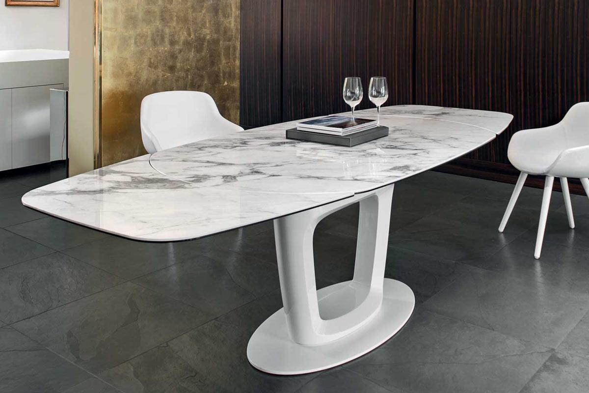 Tavolo moderno allungabile calligaris orbital tavoli - Tavolo allungabile calligaris ...