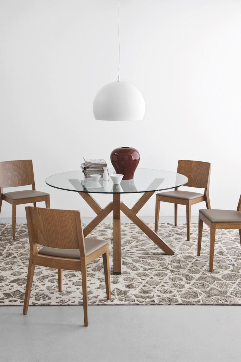 Tavolo moderno calligaris connubia mikado tavoli for Lops arredi distretto del design trezzano