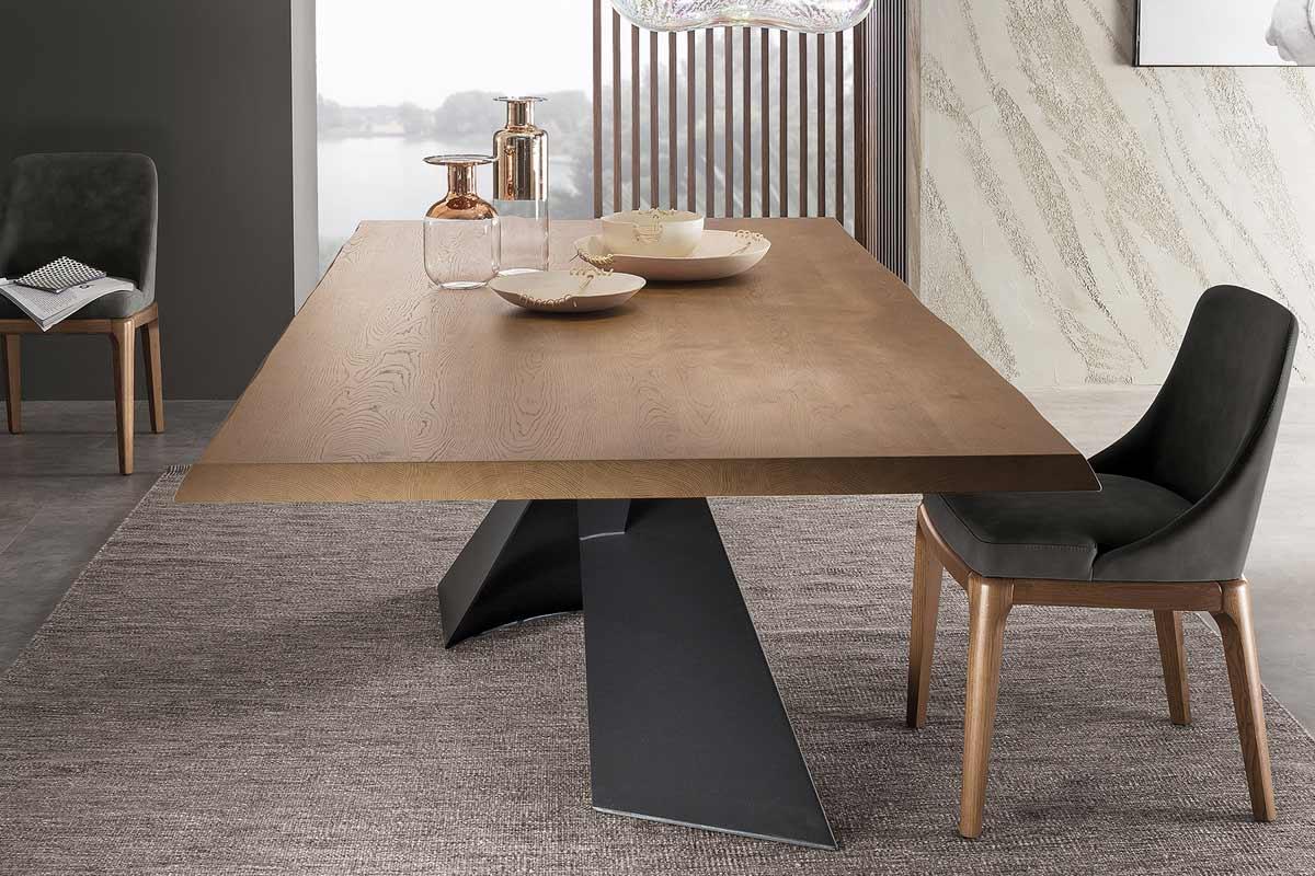 tavolo moderno riflessi living acquistabile in milano e