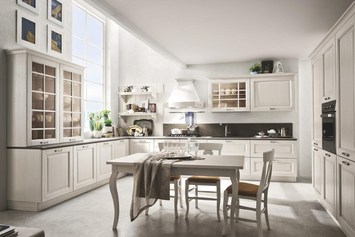Cucine classiche componibili Stosa Bolgheri - Acquistabile in Milano e provin...