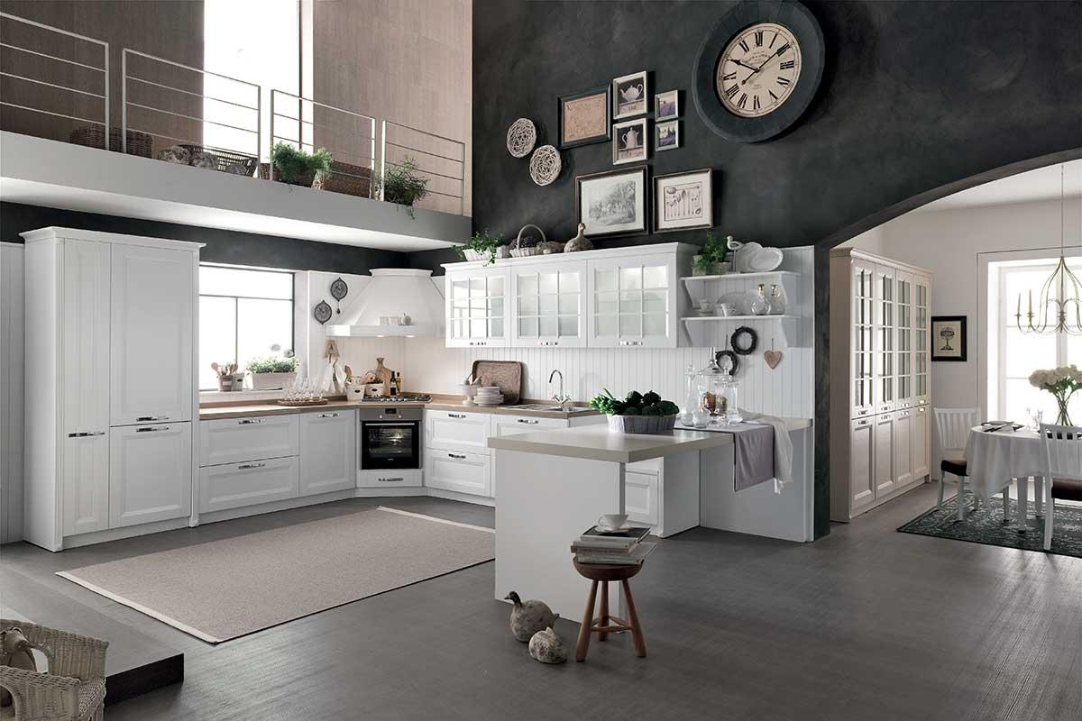 Cucine classiche componibili Stosa Beverly - Acquistabile in Milano ...