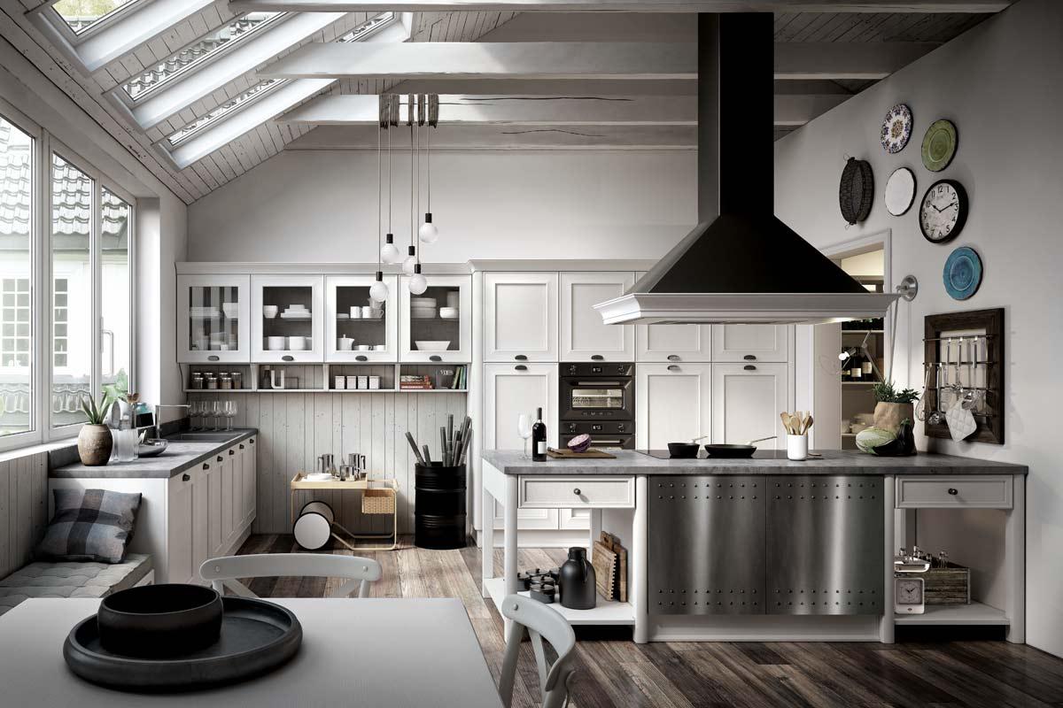 Cucine cucine componibili collezione lops stosa for Cucine immagini