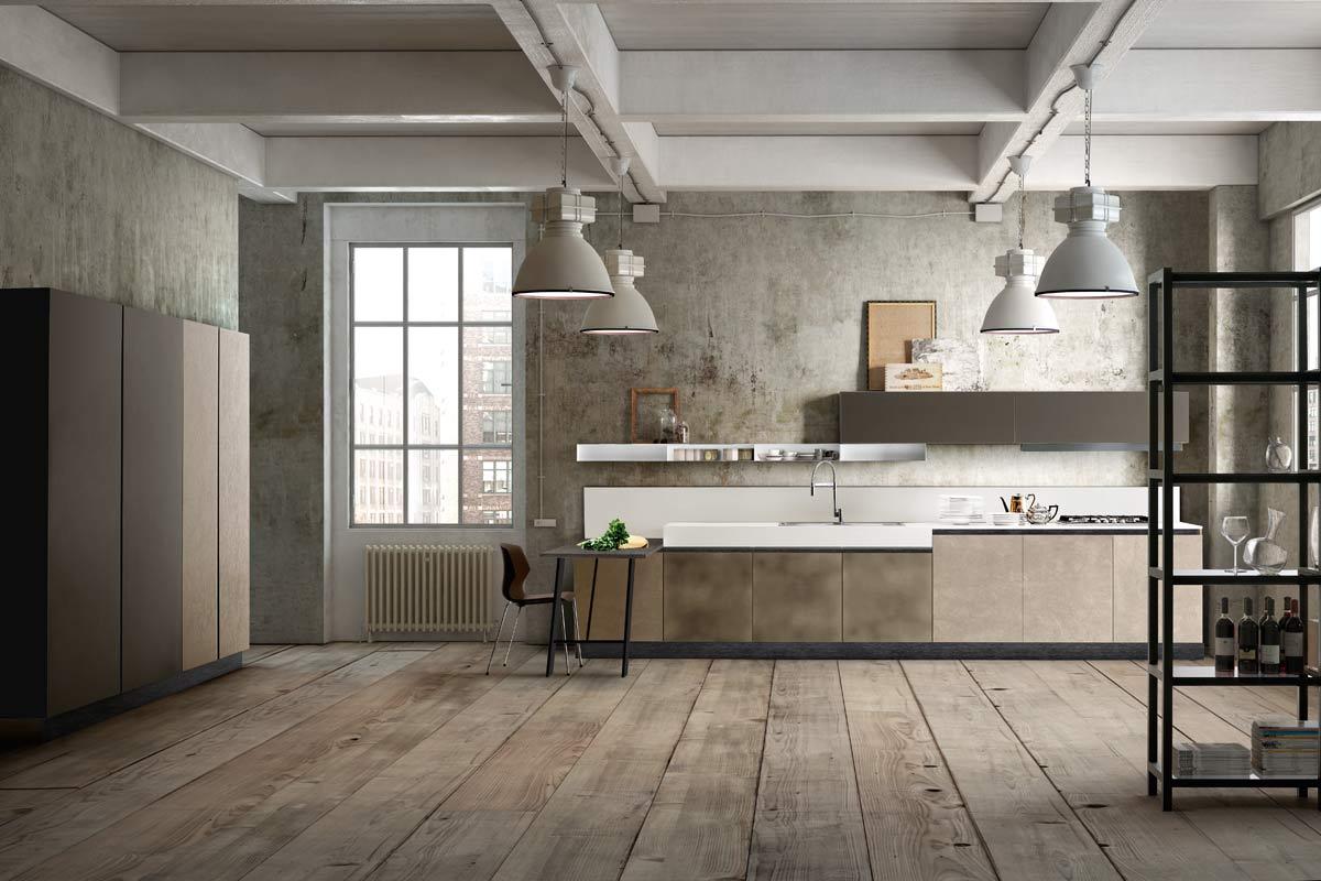cucine moderne componibili collezione lops olga progetto 1 ... - Cucine Lops