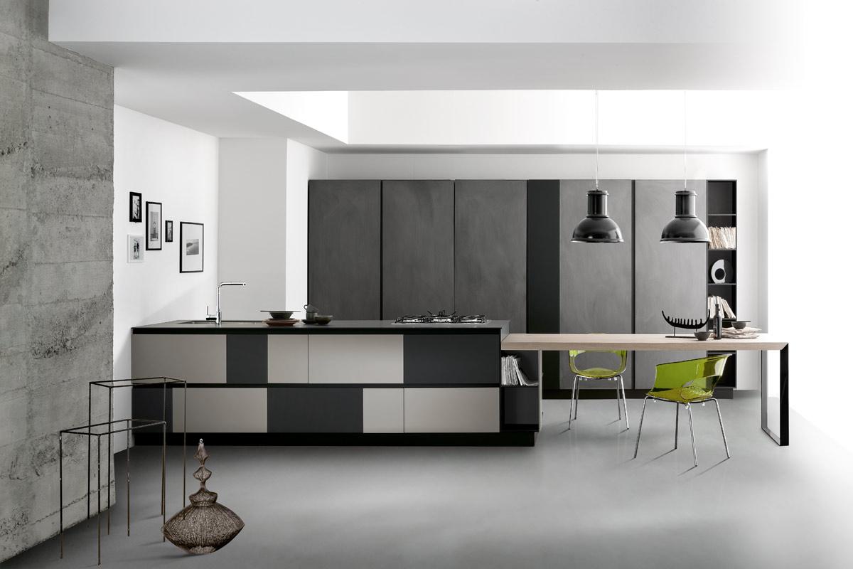 cucine moderne componibili stosa york - acquistabile in milano e ... - Cucine Lops