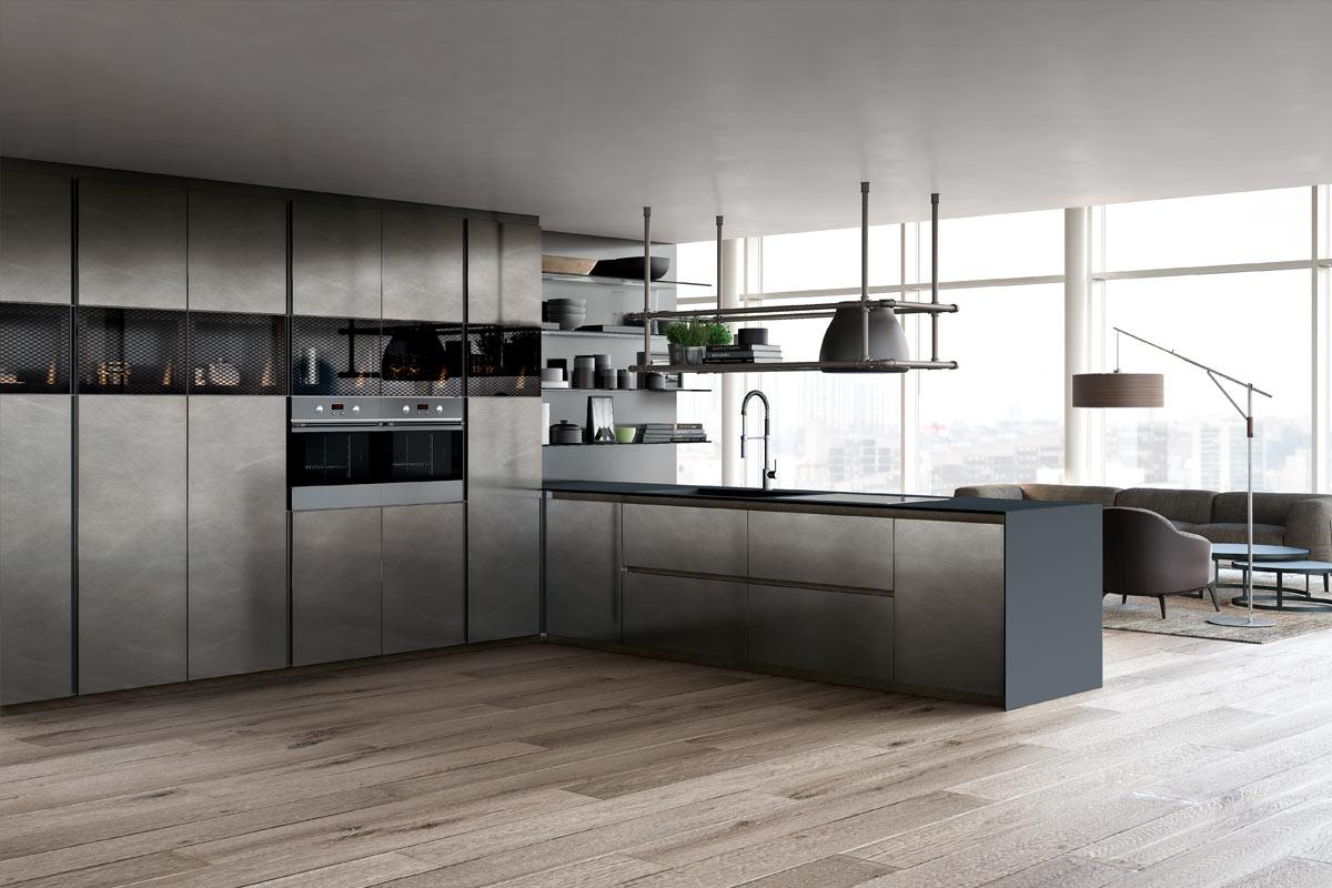 Cucine moderne componibili Top Lops Olga Progetto 4 - Acquistabile ...