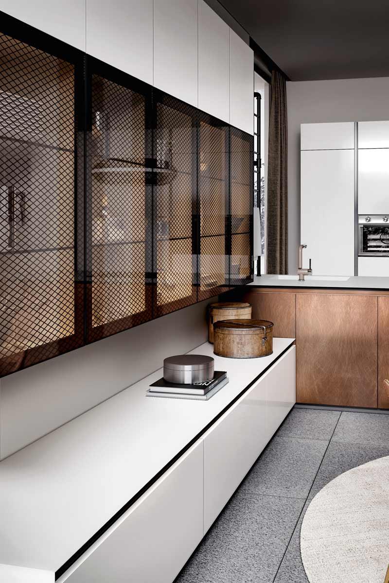 Cucine moderne componibili top lops olga progetto 9 cucine acquistabile in milano e - Top cucine moderne ...