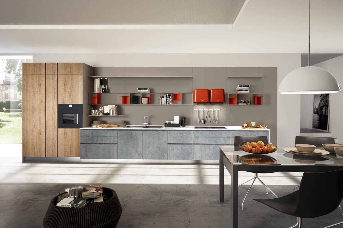 Cucine moderne componibili Top Lops Pitti Progetto 3 ...