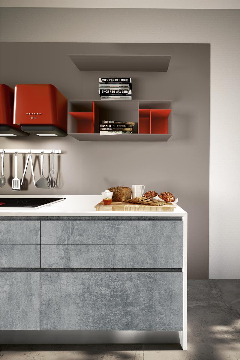 cucine moderne componibili collezione lops pitti progetto 3 ... - Cucine Lops