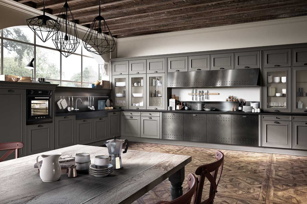 Cucine - Cucine componibili collezione Lops - Stosa - Snaidero- Lube ...