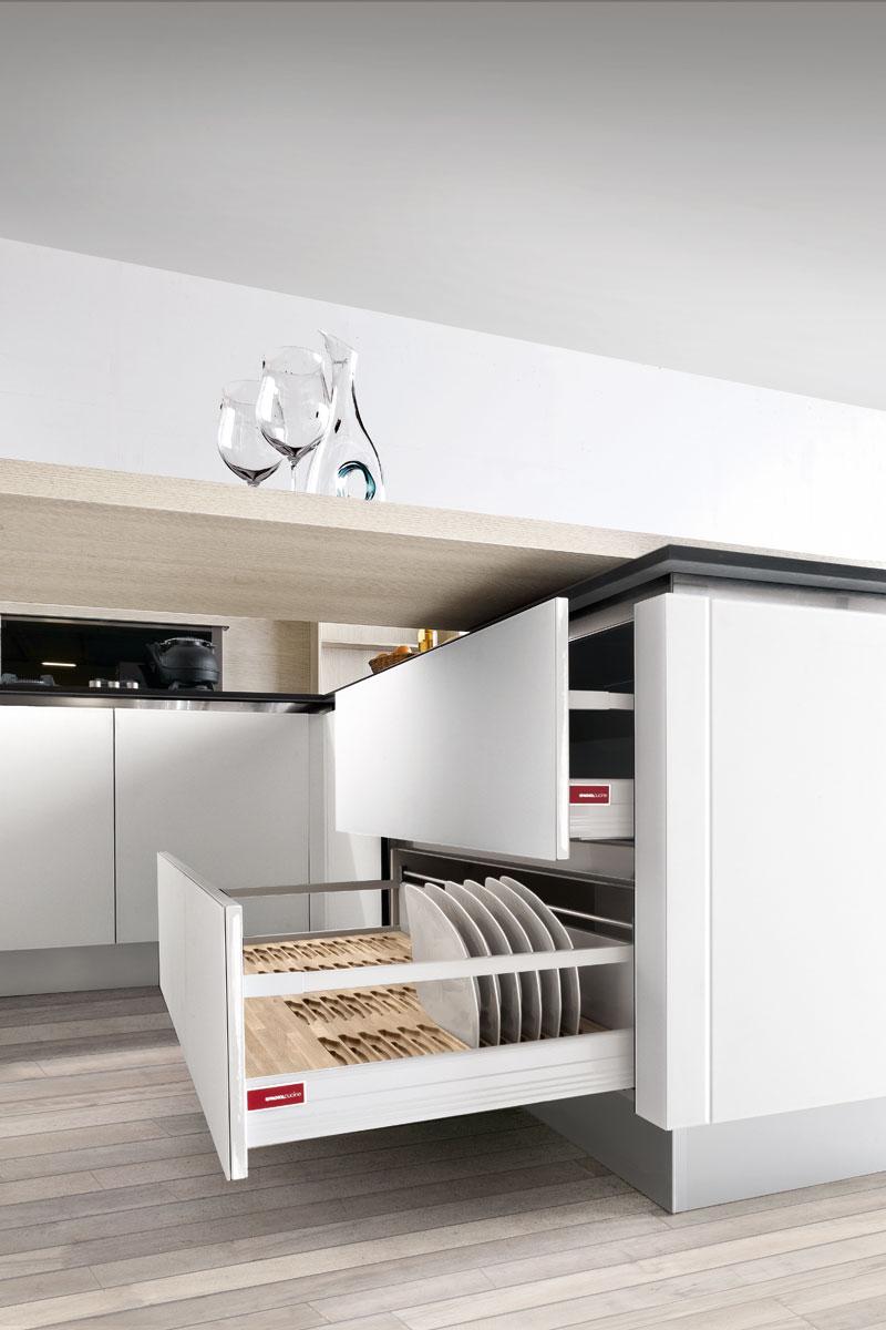 Cucine moderne componibili Top Lops Nini Progetto 1 - Acquistabile in Milano e provincia, Monza ...