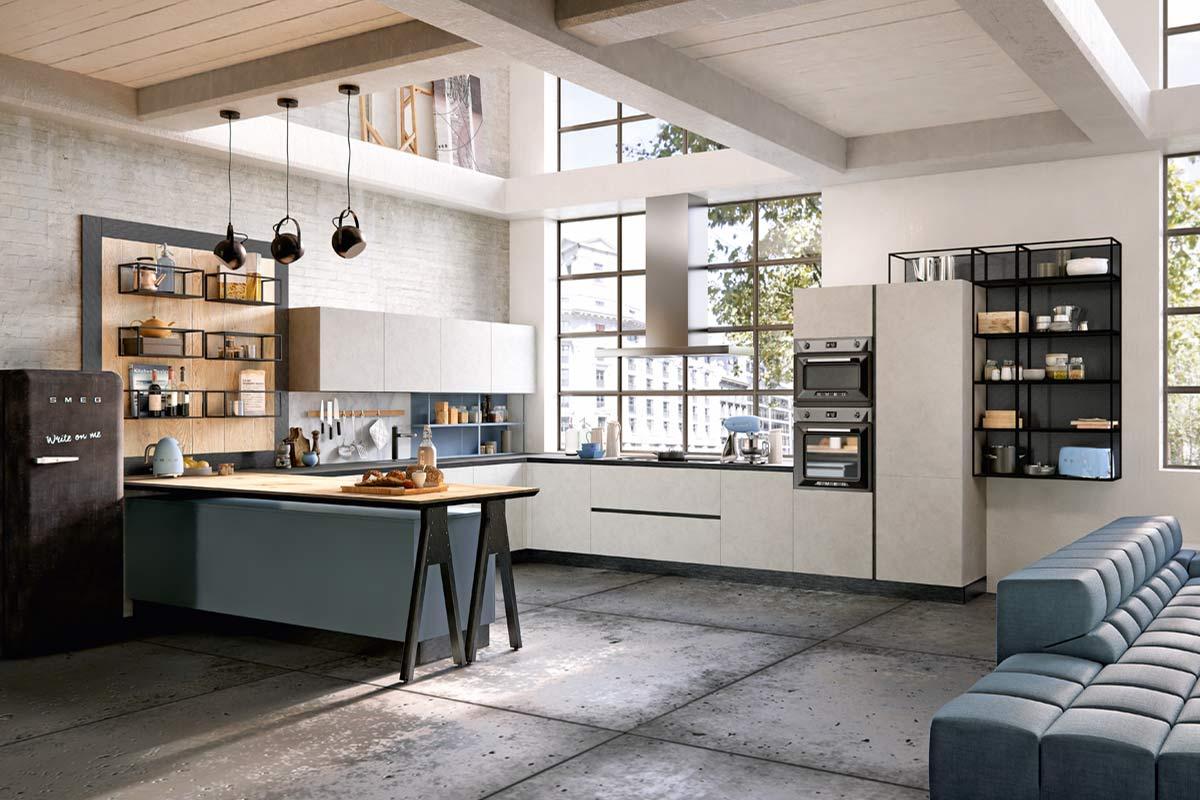 Cucine moderne componibili Top Lops Carmen Progetto 1 - cucine ...