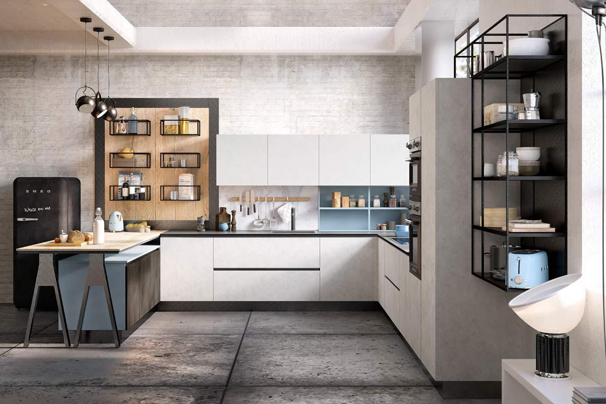 Cucine moderne componibili top lops carmen progetto 1 - Top cucine moderne ...