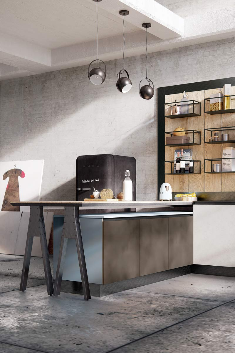 Cucine moderne componibili top lops carmen progetto 1 cucine acquistabile in milano e - Top cucine moderne ...