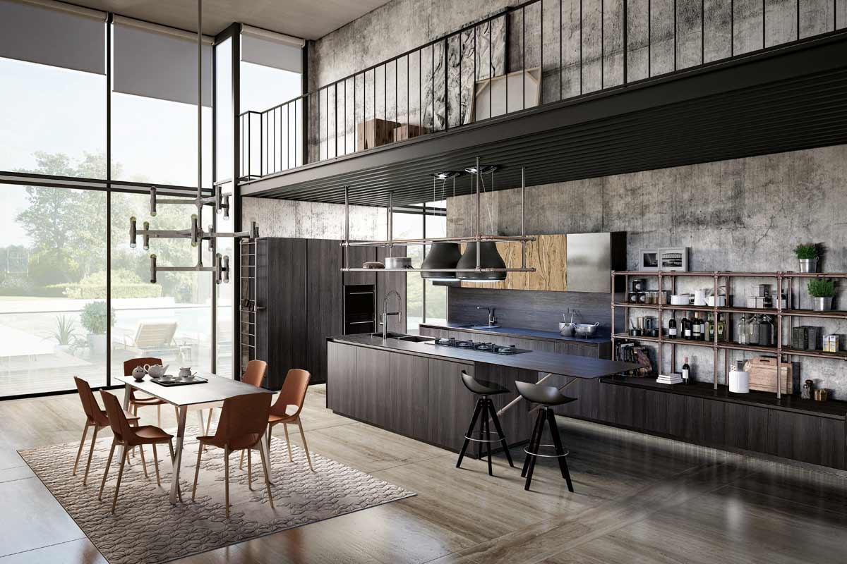 Cucine moderne componibili Top Lops Olga Progetto 1 - cucine ...