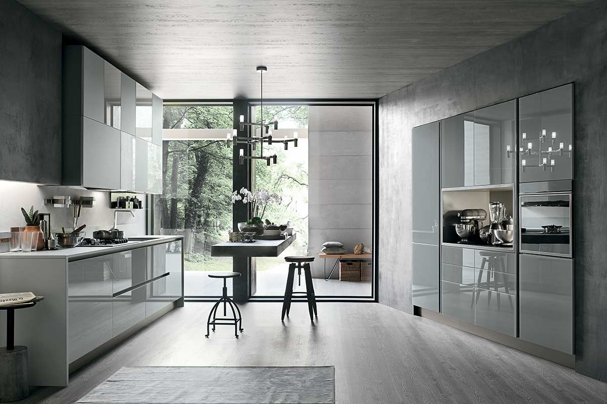 Cucine moderne componibili Stosa Progetto Aliant - cucine ...