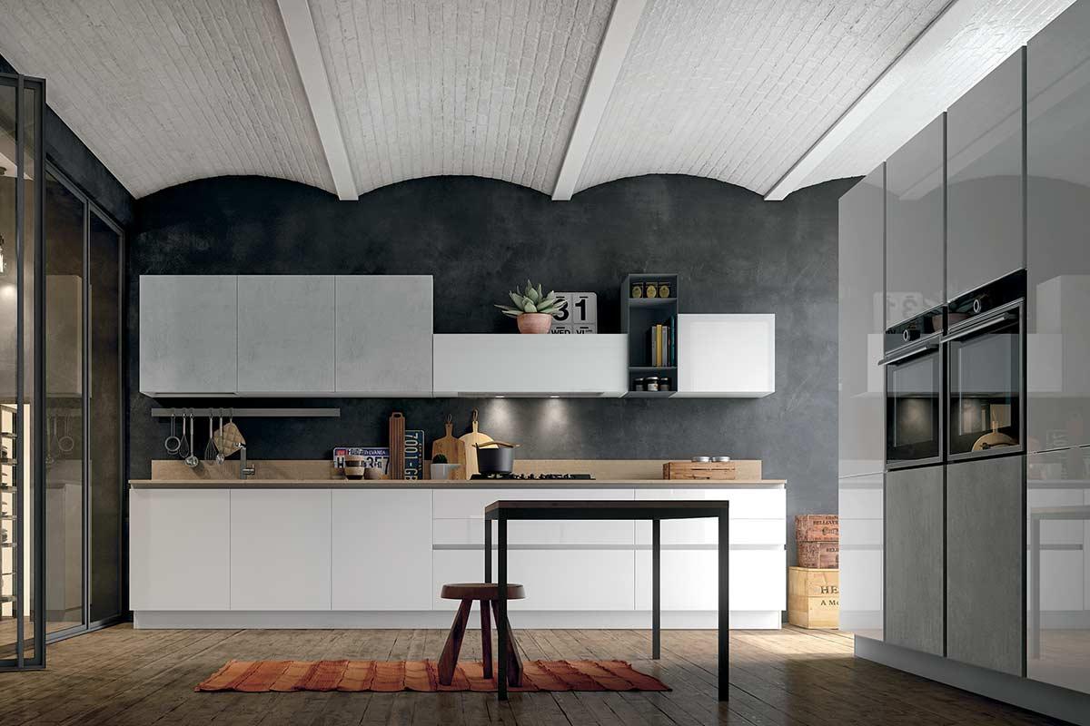 Cucine moderne componibili stosa aliant acquistabile in - Stosa cucine milano ...