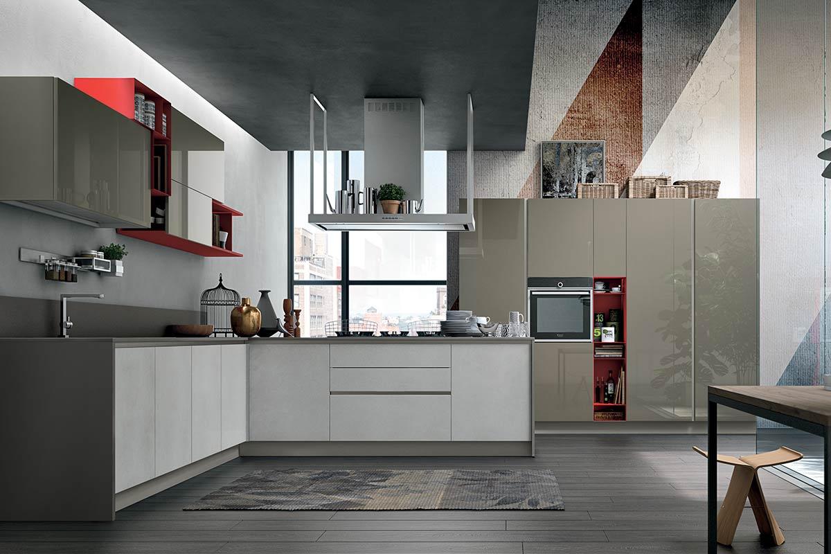 Cucine lops finest cucine moderne componibili stosa for Stosa cucine verona