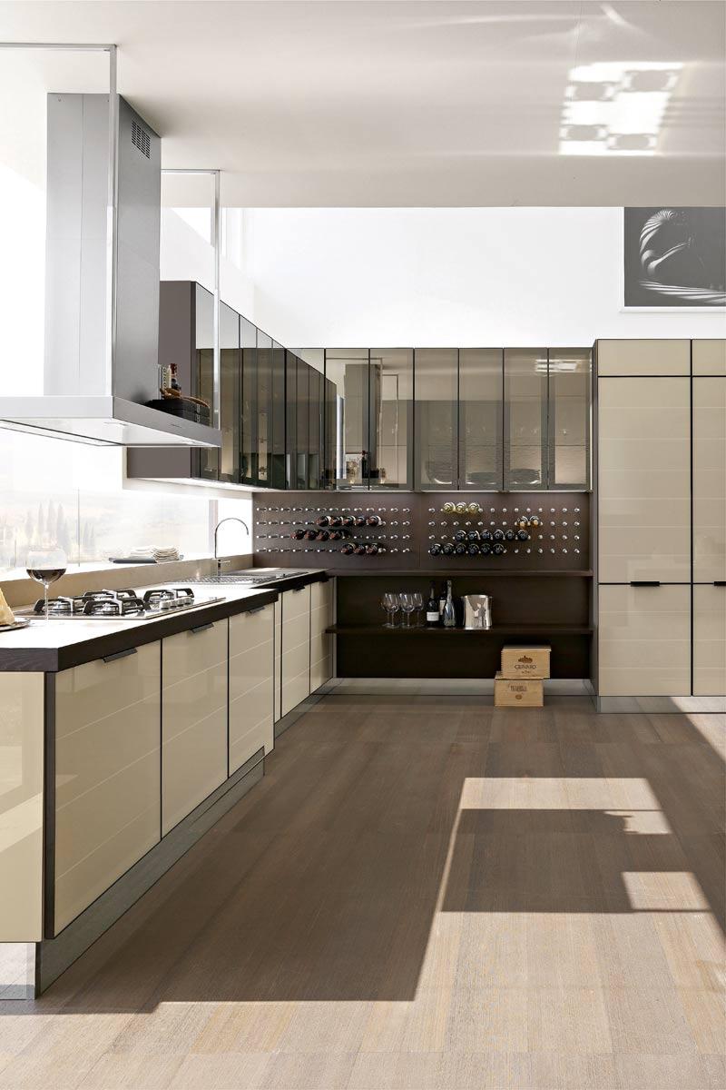 Cucine moderne componibili stosa brillant acquistabile for Lops arredi distretto del design trezzano