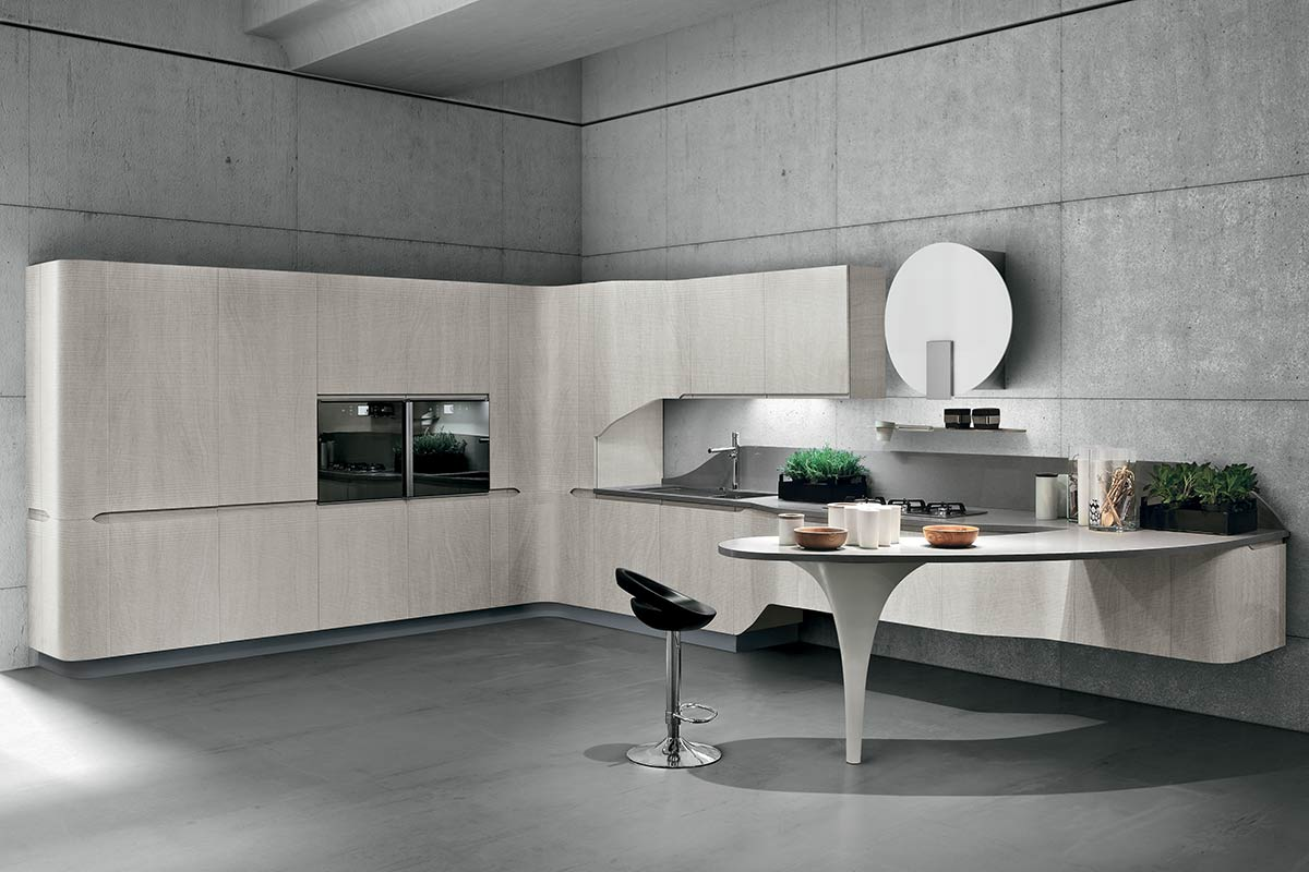 Cucine moderne componibili Stosa Bring 2