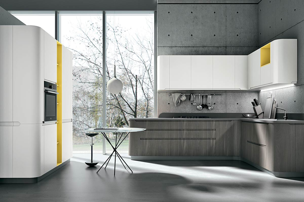 Cucine moderne componibili Stosa Bring 4