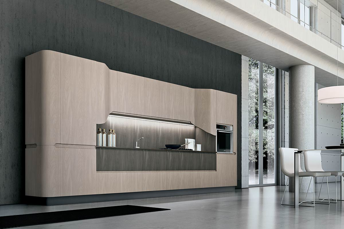 Cucine moderne componibili Stosa Bring 5