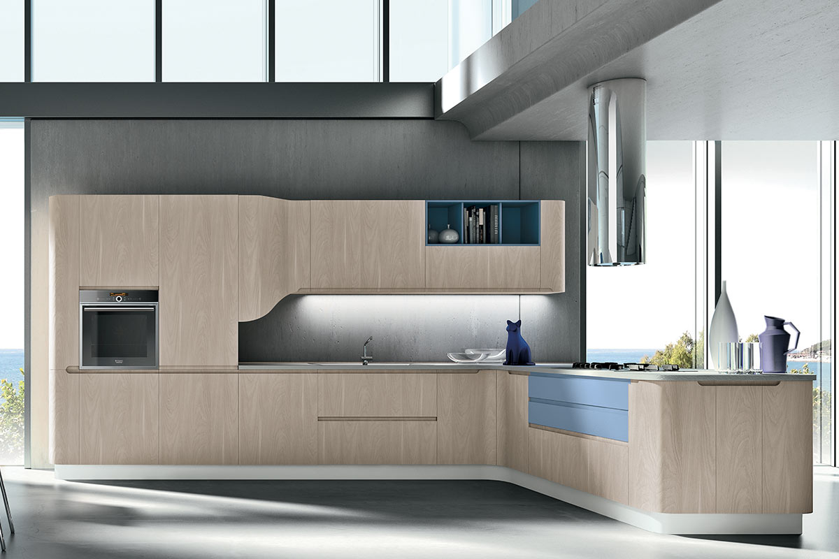 Cucine moderne componibili Stosa Bring 6