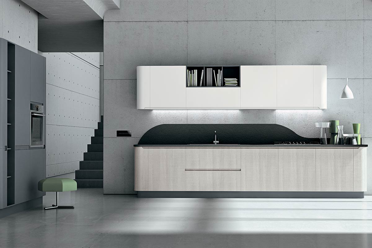 Cucine moderne componibili Stosa Bring 8