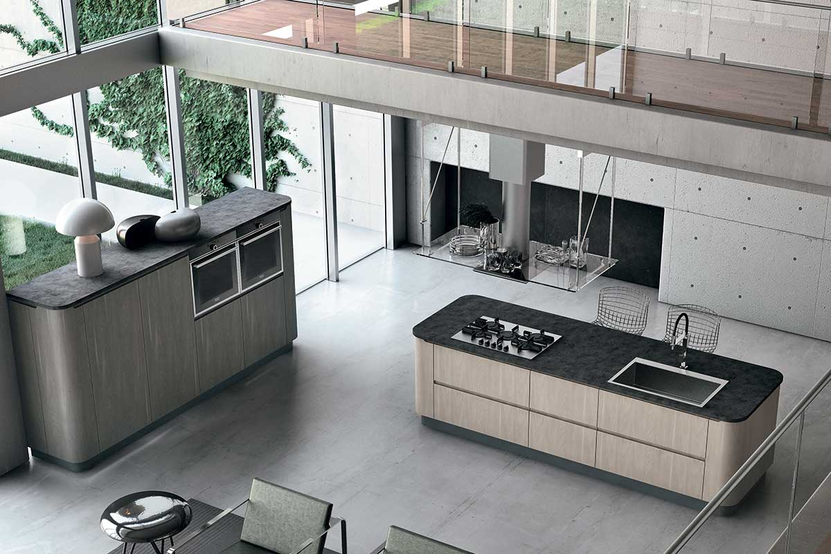 Cucine moderne componibili Stosa Bring 9