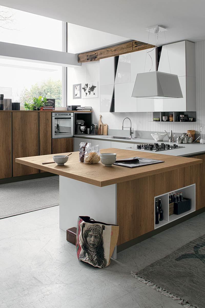 Cucine moderne componibili stosa infinity acquistabile - Cucine stosa milano ...