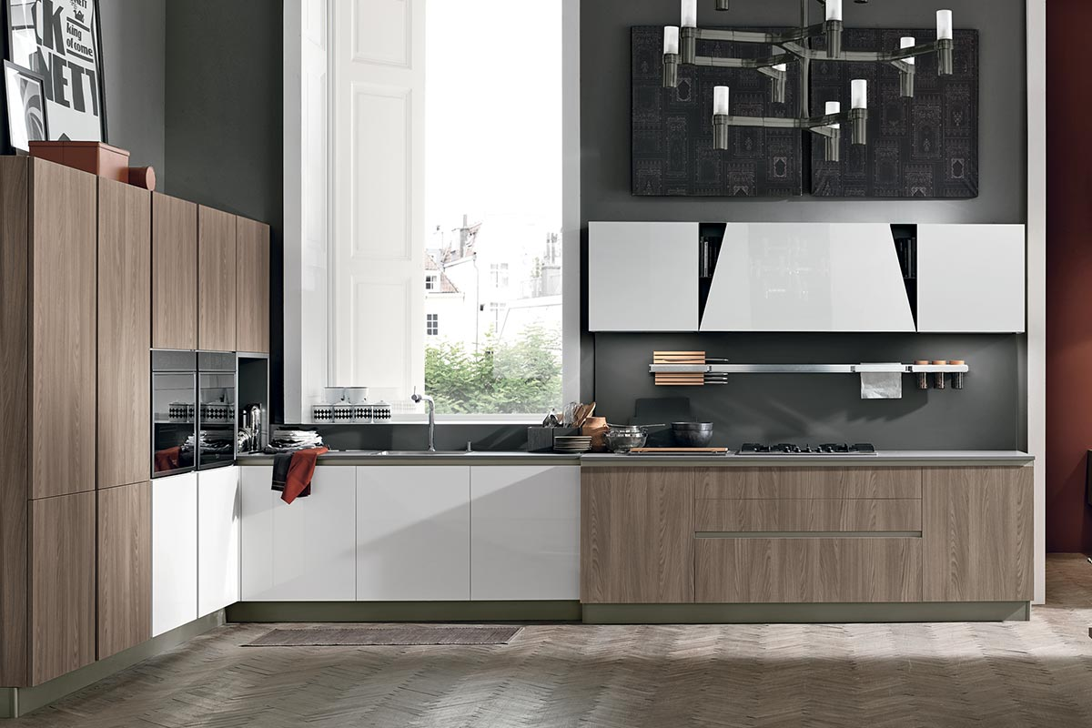 Cucine moderne componibili stosa infinity acquistabile for Cucina stosa infinity