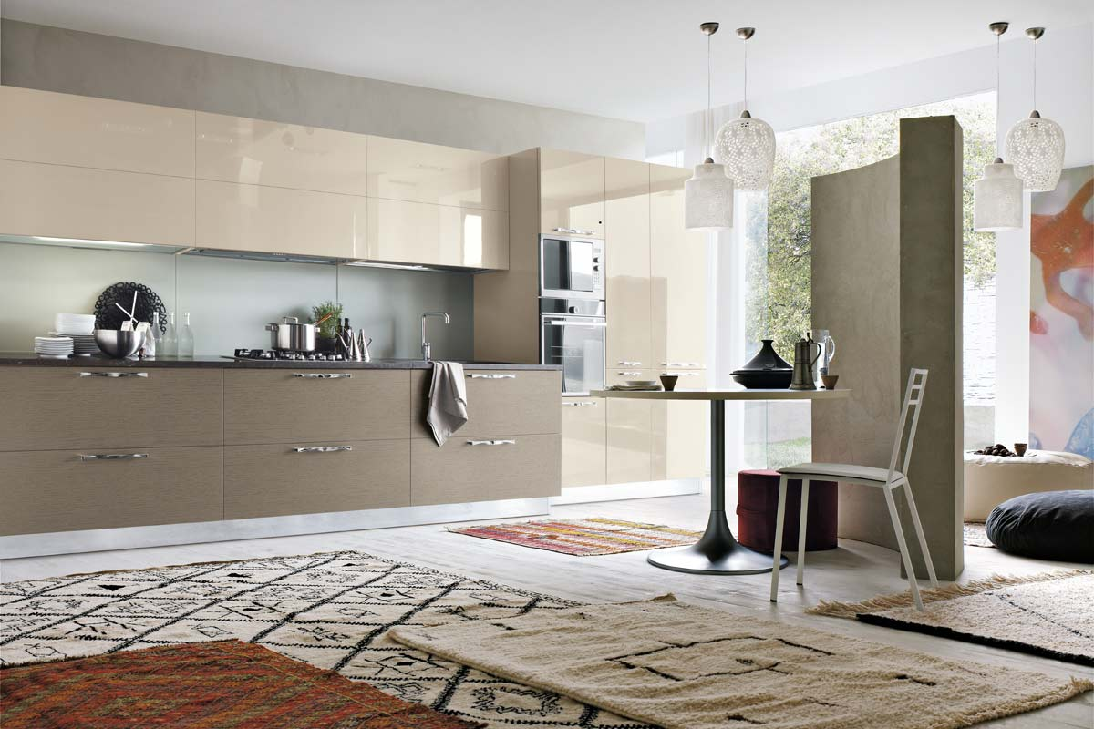 Cucine moderne componibili Stosa Life 1