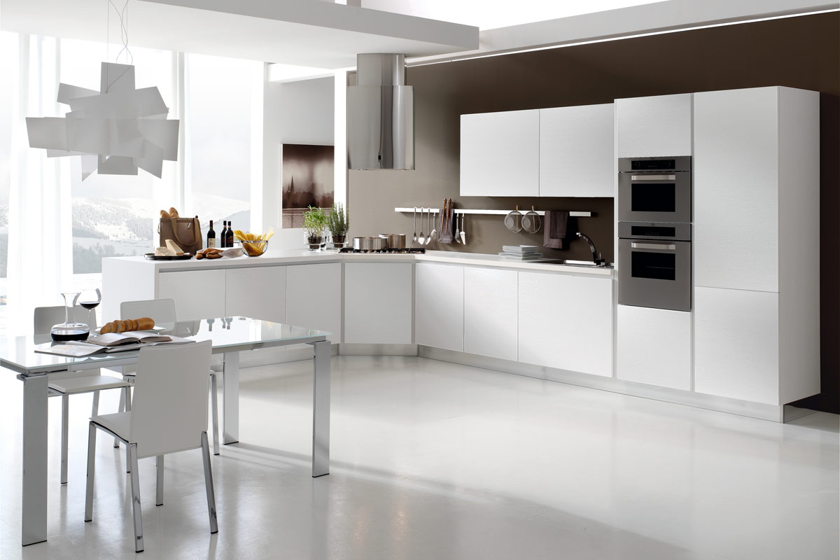 Cucine moderne componibili Stosa Life 2