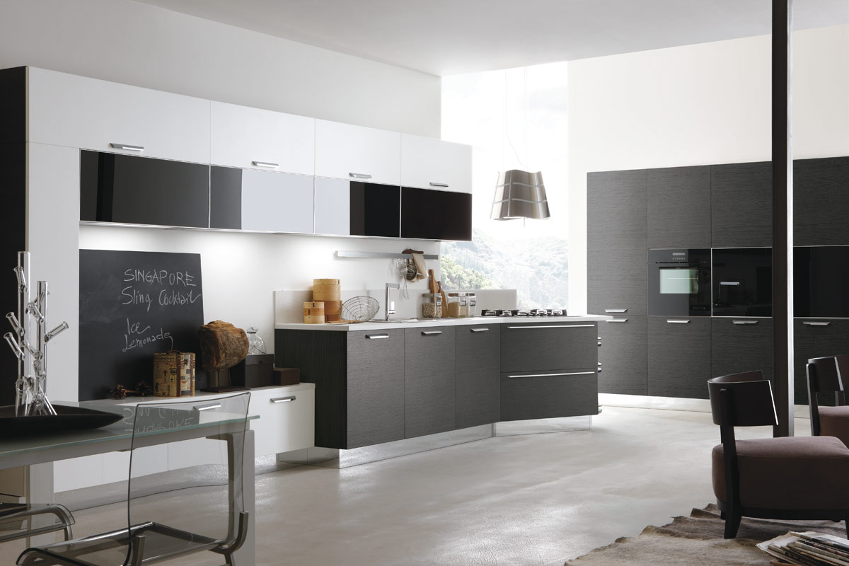 Cucine moderne componibili Stosa Life 4