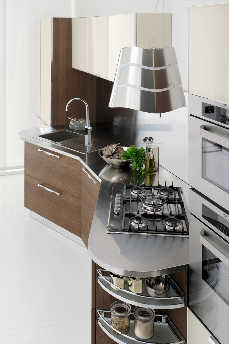 Cucine moderne componibili Stosa Life 7