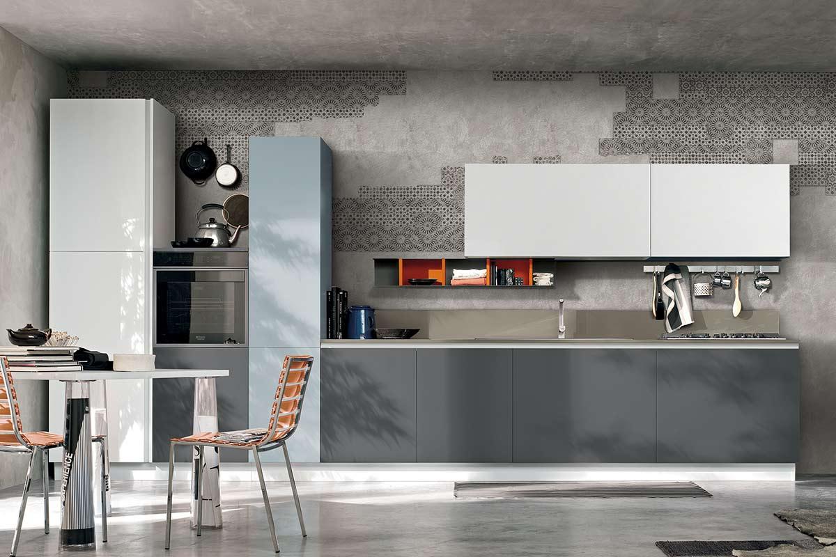 Cucine componibile moderne simple cucine componibili moderne with cucine componibile moderne - Maya diva futura ...