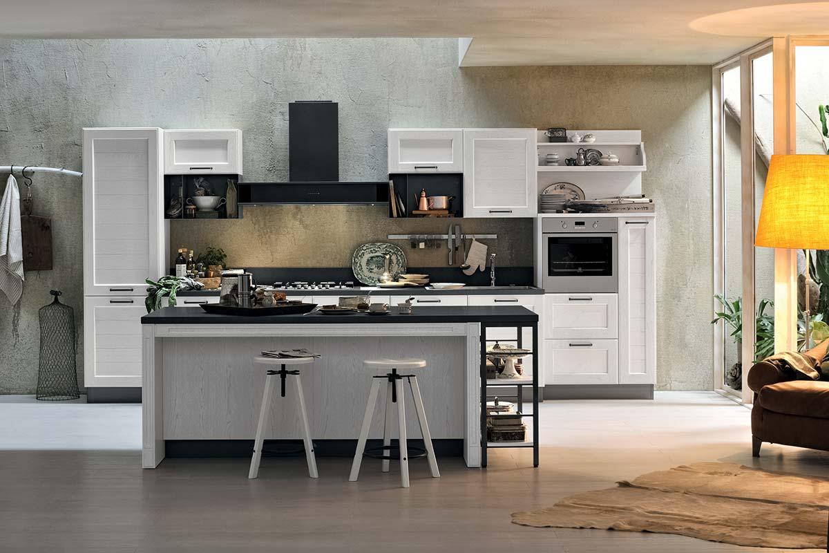 Cucine moderne componibili stosa york acquistabile in - Cucine stosa milano ...
